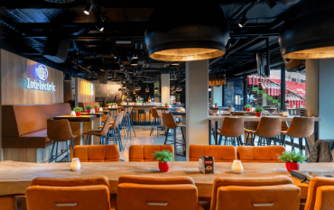 Lounge binnen PSV